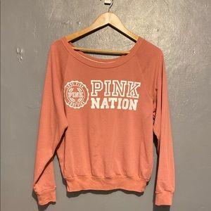 Victoria Secret Pink crewneck sweatshirt sz M